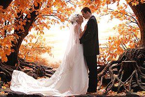 ноябрьская свадьба