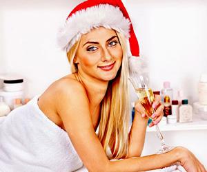 новогодние скидки в салонах красоты