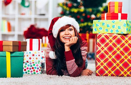 новогодние подарки для подруги