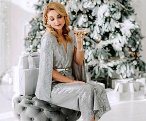 романтичный наряд для новогодней ночи